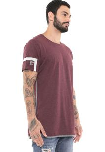 Camiseta Triton Alongada Roxa