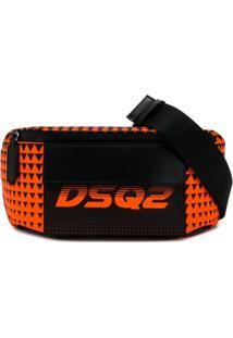 Dsquared2 Pochete Bionic Sport Dsq2 Race - Laranja