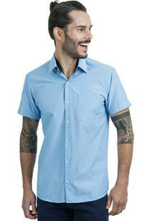 Camisa Di Sotti Premium Azul Claro - Masculino