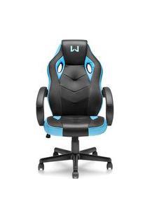 Cadeira Gamer Azul Warrior - Ga161 Azul