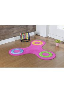 Tapete Formato Big Spinner Pink Guga Tapetes