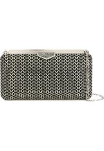 Jimmy Choo Bolsa Clutch 'Ellipse' - Preto