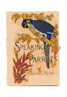 Olympia Le-Tan Clutch The Speaking Parrots - Neutro