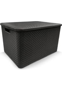 Organizador Container Com Tampa Multiuso 20 Litros Arqplast