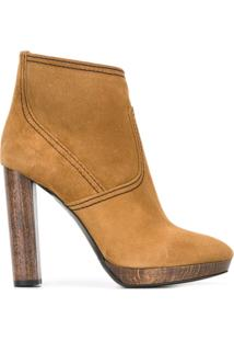 Burberry Ankle Boot - Nude & Neutrals