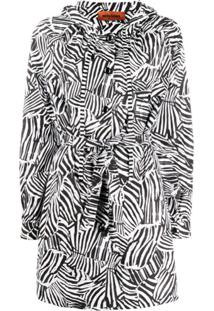 Missoni Parka Animal Print - Branco