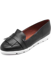 910127a719 ... Mocassim Dafiti Shoes Franjas Preto