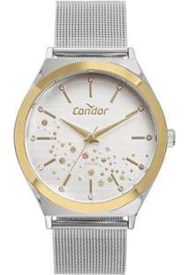 Relógio Condor Feminino Prata Analógico Co2036Kxsk5K - Feminino