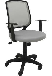 Cadeira Office Avila Cinza Rivatti - Tricae