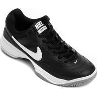 10c9dd89052 Tênis Nike Court Lite Masculino - Masculino-Preto+Branco