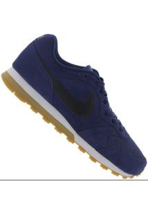 Tênis Nike Md Runner 2 Suede - Masculino - Azul Escuro