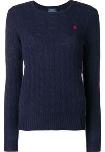 Polo Ralph Lauren Suéter Liso - Azul