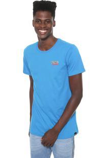 Camiseta Tectoy Sonic Hedgehog Classic Front Brand Azul