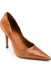 Sapato Texturizado Zariff Concept - Feminino-Bronze