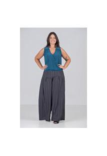 Blusa Cashecouer De Malha Talento- Plus Size Verde