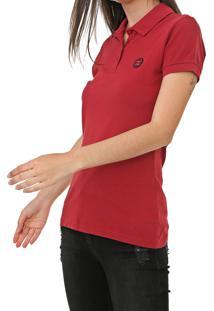 Camisa Polo Colcci Lisa Vermelha