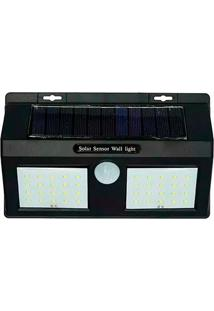 Luminária Lâmpada Solar 40 Leds Com Sensor De Presença Thata Esportes