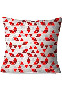 Capa De Almofada Mult Triangulos 35X35Cm