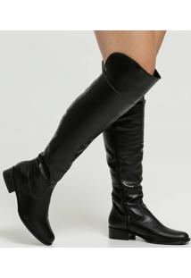 Bota Feminina Over The Knee Via Uno