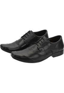 Sapato Social Couro Leoppé C/ Cadarço Masculino - Masculino