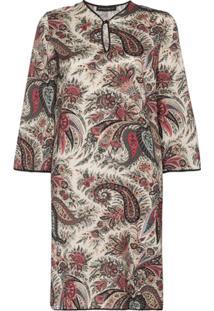 Etro Vestido Túnica Com Estampa Paisley - 800 Multicoloured