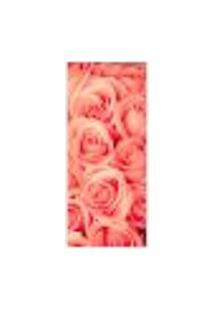 Adesivo Decorativo De Porta - Rosas - 213Cnpt Auto Colante