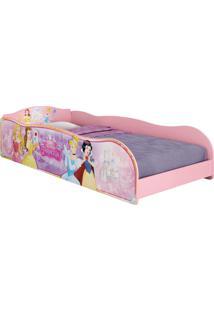 Cama Princesas Disney Plus Rosa Pura Magia