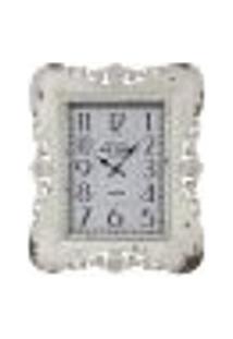 Relógio Classic Arabesco Branco Old Town