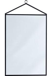Espelho Decorativo Bart 45 X 96 Cm Preto