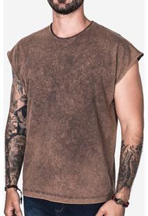 Camiseta Hermoso Compadre Oversized Masculina - Masculino-Marrom