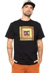 Camiseta Dc Shoes Arkana Preta