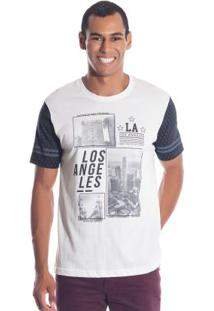 Camiseta Los Angeles Branco Bgo