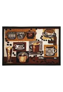 Tapete Clean Para Cozinha Marrom / Bege Des. 04 0,40X0,60M - Edx Tapetes Tapete Clean Para Cozinha Marrom / Bege Des. 04 0,40X0,60M - Edx Tapetes Edantex