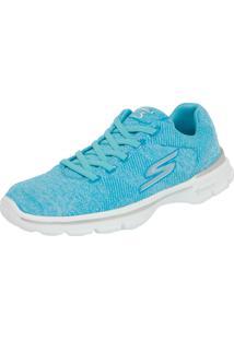 Tênis Skechers Go Walk 3 Stretch Azul