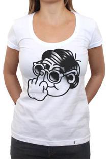 Beijo Me Liga - Camiseta Clássica Feminina