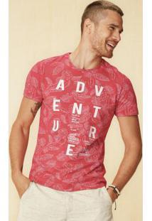 Camiseta Vermelho Enfim