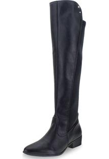 Bota Feminina Over The Knee Via Marte - 19204 Preto 34