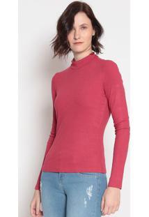 Blusa Canelada- Vermelha- Sommersommer