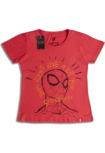Camiseta Feminina Marvel Job For Spider- Man - Feminino
