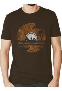 Camiseta Doompa Serenidade Marrom