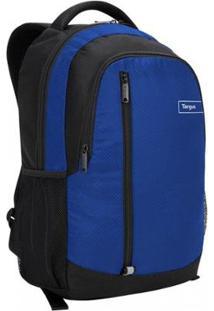 Mochila Targus Sport Para Notebook De 15.6 - Unissex-Azul+Preto