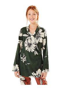 Blazer Floral Nath Est Floral Nath_Verde Camuflagem