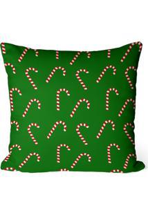 Capa De Almofada Love Decor Avulsa Decorativa Balas De Natal - Kanui