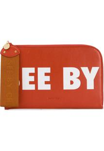 See By Chloé Bolsa Clutch 'See By' - Amarelo
