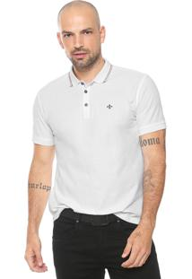 bf825b4c96ebd ... Camisa Polo Dudalina Reta Listras Branca