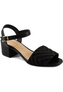 Sandália Matelassê Numeração Especial Sapato Show 250176