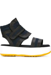 Marni Sandália Flatform - Azul