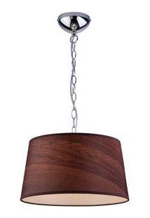 Pendente São Paulo Wood 40X130A E27 Sem Cristais Bronzearte