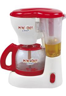 Cafeteira Infantil Xalingo Mini Chef 3954 Branca/Vermelha
