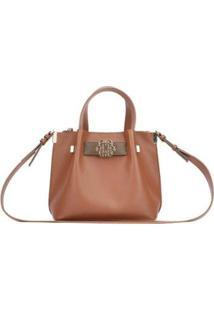 Bolsa Handbag Ana Hickmann Feminina - Feminino-Marrom